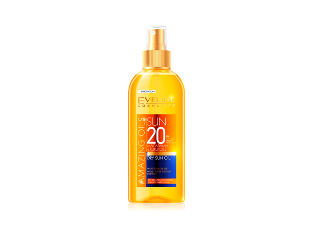 eveline sun aceite seco spf20 150ml