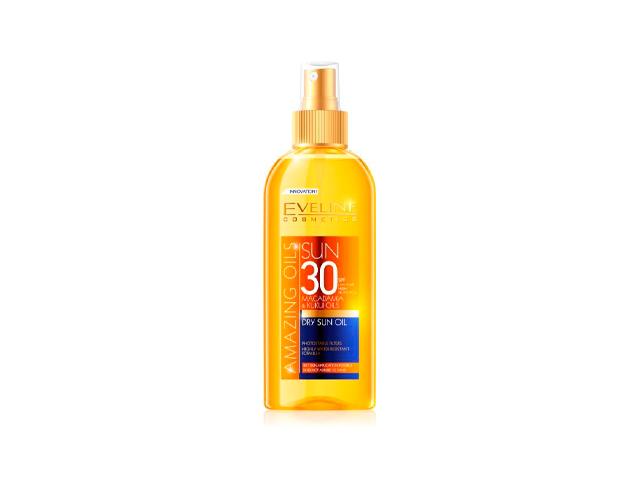 eveline sun aceite seco spf30 150ml