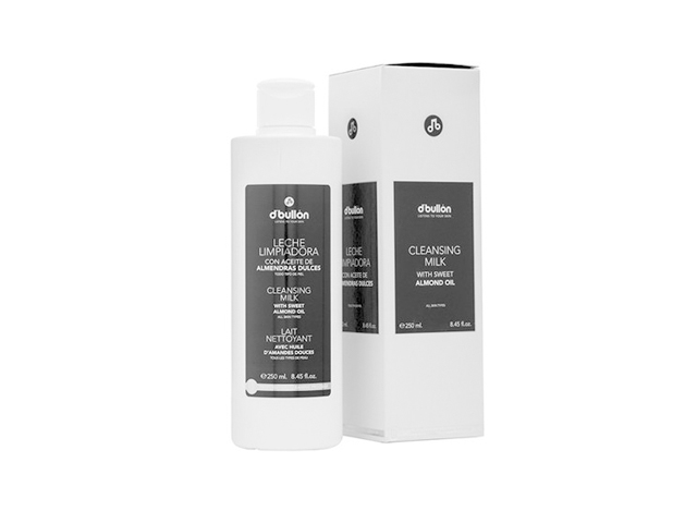 Leche limpiadora con aceite de almendras dulces (250 ml)