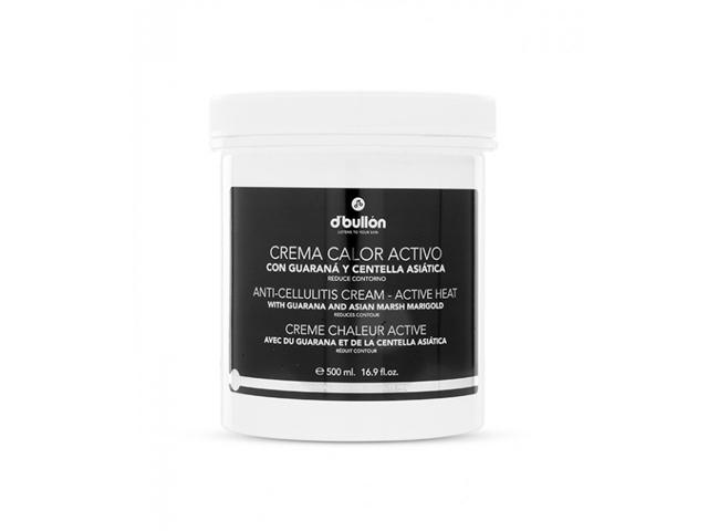 Crema corporal calor activo D'Bullon (500ml)