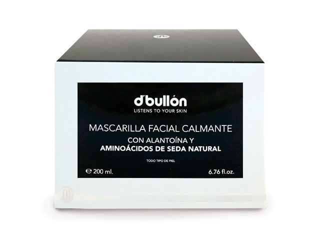 mascarilla facial calmante 200ml