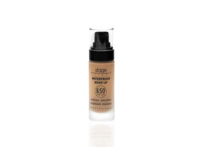 Waterproof make up spf 50