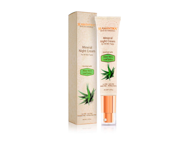 Seamántika Mineral Night Cream (40 ml)