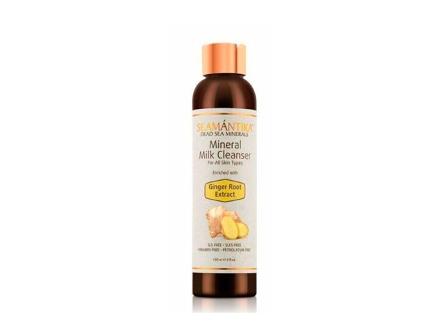 seamantika min.milk cleanser ginger 150