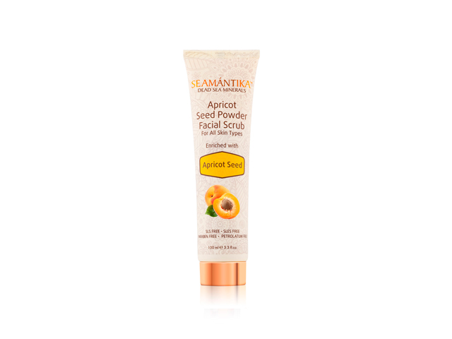 Apricot Seed Powder Facial Scrub (100 ml)
