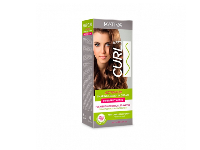 kativa keep curl activator leave in cream 200ml