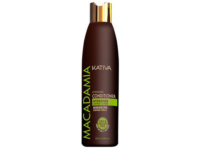 kativa macadamia hydrating conditioner 250ml