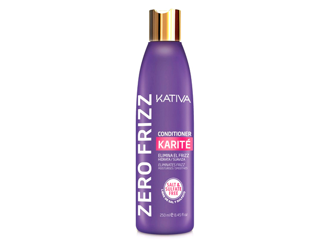 kativa zero frizz conditioner 250ml