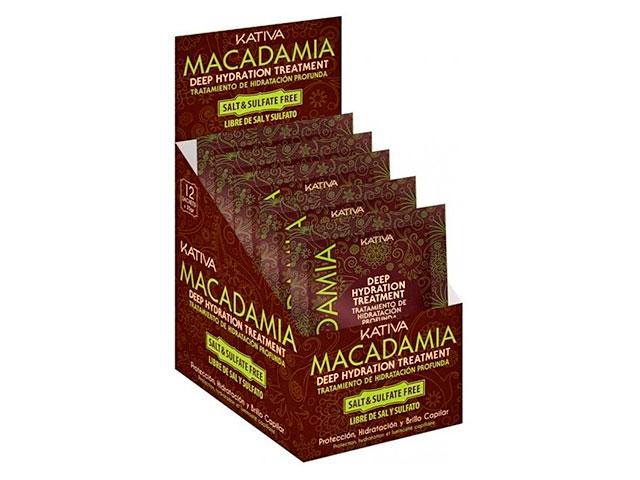 kativa macadamia deep hydration trat.disp*12und