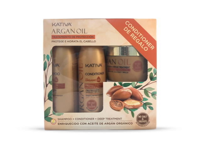 Pack Kativa Argan Oil