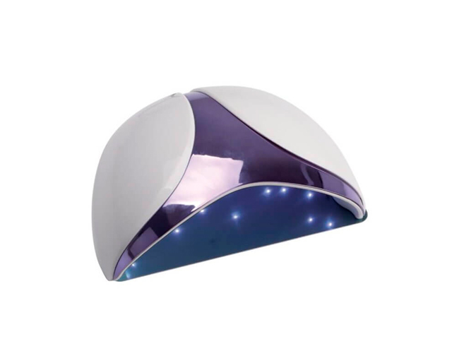 lampara uñas led-uv digitial 36w r&j