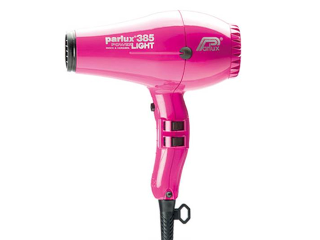 secador parlux 385light fucsia