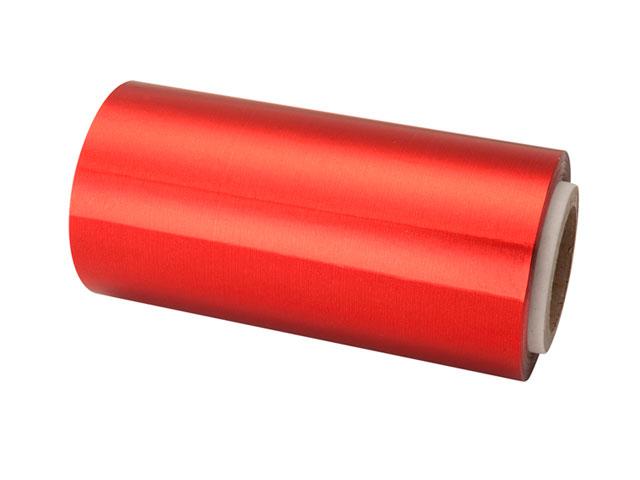 rollo papel aluminio rojo