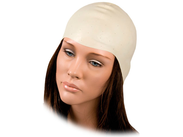 gorro mechas latex