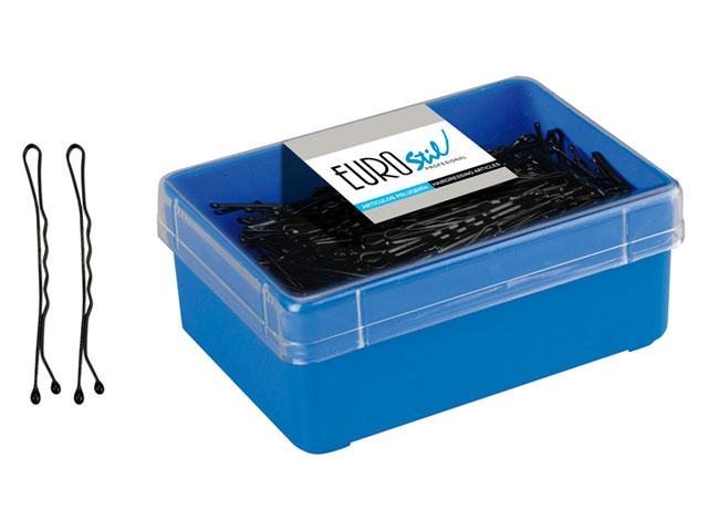 caja 300clips corto 5cm.negro