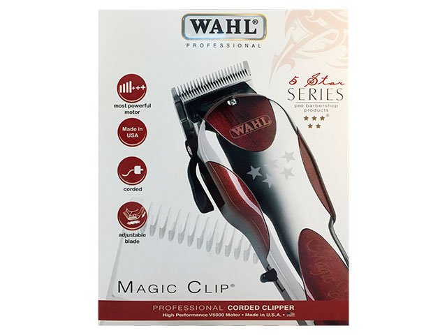 maquina whal magic clip con cuchilla fade