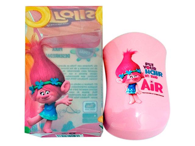 cepillo dessata trolls rosa/turquesa
