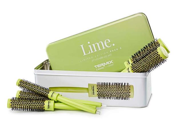pack cepillo termix c-r color lime