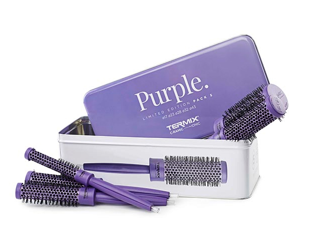 pack cepillo termix c-r color purple