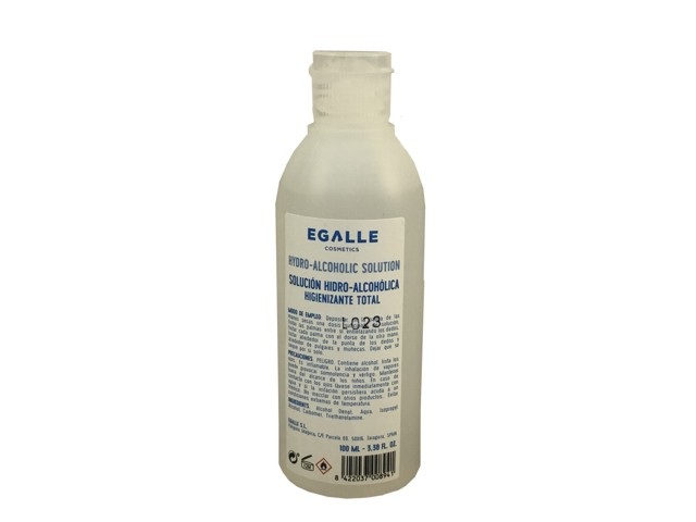 gel hidro-alcoholico egalle 100 ml